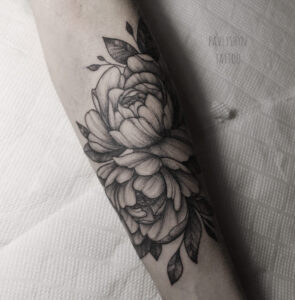 whip shaded rose